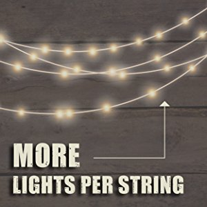 Commercial Outdoor String Light Extension Cord Weatherproof Patio String Lights