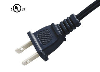 Canadian 2 Prong Ac Power Cord , FT-2  Clocks / Radio Power Cord 10A 13A 125V