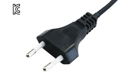 2 Prong Korea Power Cord 2.5a Current Rating Y001-k Plug Type Ksc 8305 Standard