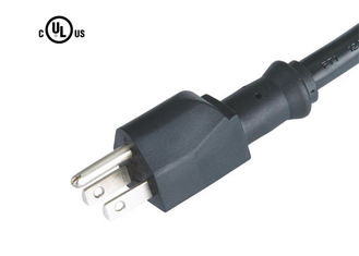 FT-3A NEMA 5-15P UL Approved Power Cord Three Prong Power Cable OEM Available
