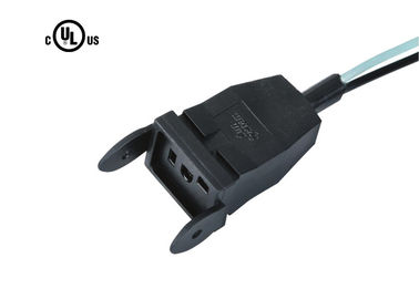 Multiple Wire Gauges UL Approved Power Cord / 15a 250v Power Cord With Square Plug End