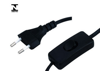 303 Switch Lamp Inmetro Power Cord Round Shape With Customized Length