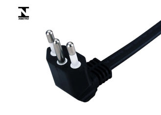 Brazil standard Inmetro Power Cord , 3 Pin right Angle PC Power Cable