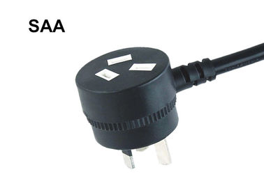 3 Prong Ac Power Cord Australia Standard , 10A 250V Piggyback Power Cord