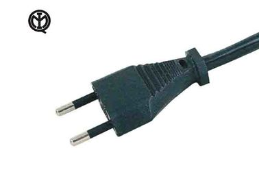 2 Prong Kettle Power Cord , Italy Power Cord IMQ Approved YDL-07 Plug Type