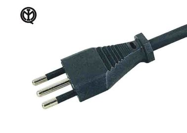 Italy IMQ Approval European Power Cord / 3 Round Pin Power Cord YDL-10