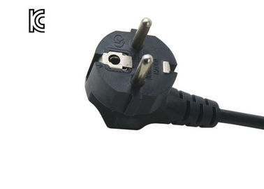 Heavy Duty Home Appliance Power Cord For Copier / Printer KC Certification