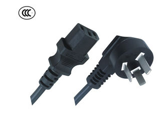 China Standard Power Extension Cable , Electric Oven Power Cable CCC Approval