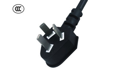 10 Amp 250V AC Refrigerator Power Cord , 3 Prong Appliance Cord PVC Jacket