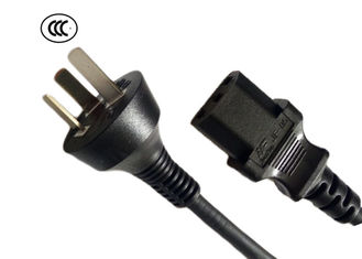 IEC 53/57 3 Wire Power Extension Cord With Plug And Ends For Microwave Oven