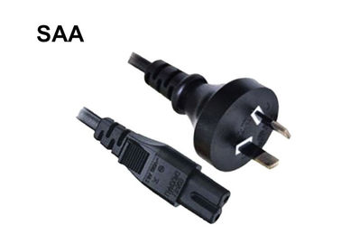 Australian Swivel Power Cord , Hair Straightener Power Cord 250V SAA Certificate