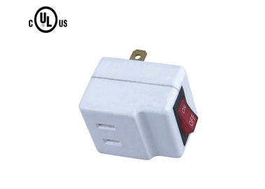 Wall Mount AC Power Plug Adapter 125V 60 Hz US Type With Switch Power Supply