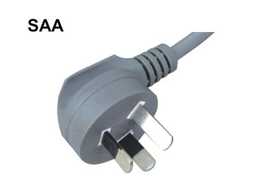 China Home Appliance Australian Power Lead , 3 Prong Scanner Power Cord 10A 250V supplier