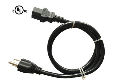 China Heavy Duty Universal Ul Approved Power Cord Usa With 3 Pin Plug Ul Listed supplier